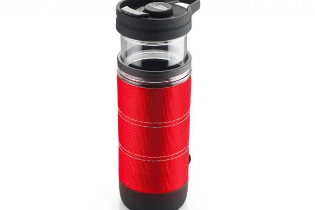 GSI Outdoors' JavaPress coffee press + travel mug. ($30)