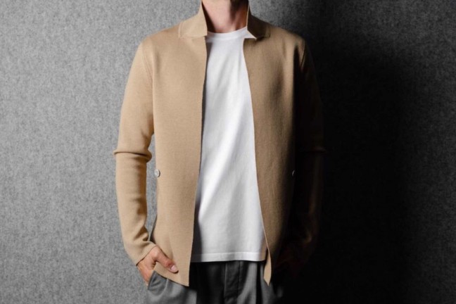 hard-graft-open-front-knit-blazer-honey