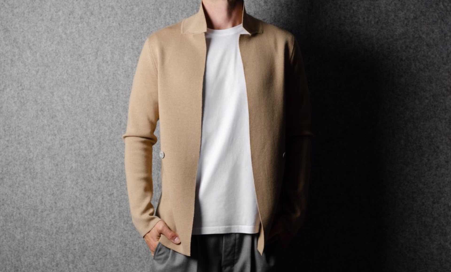 hard-graft-open-front-knit-blazer-honey