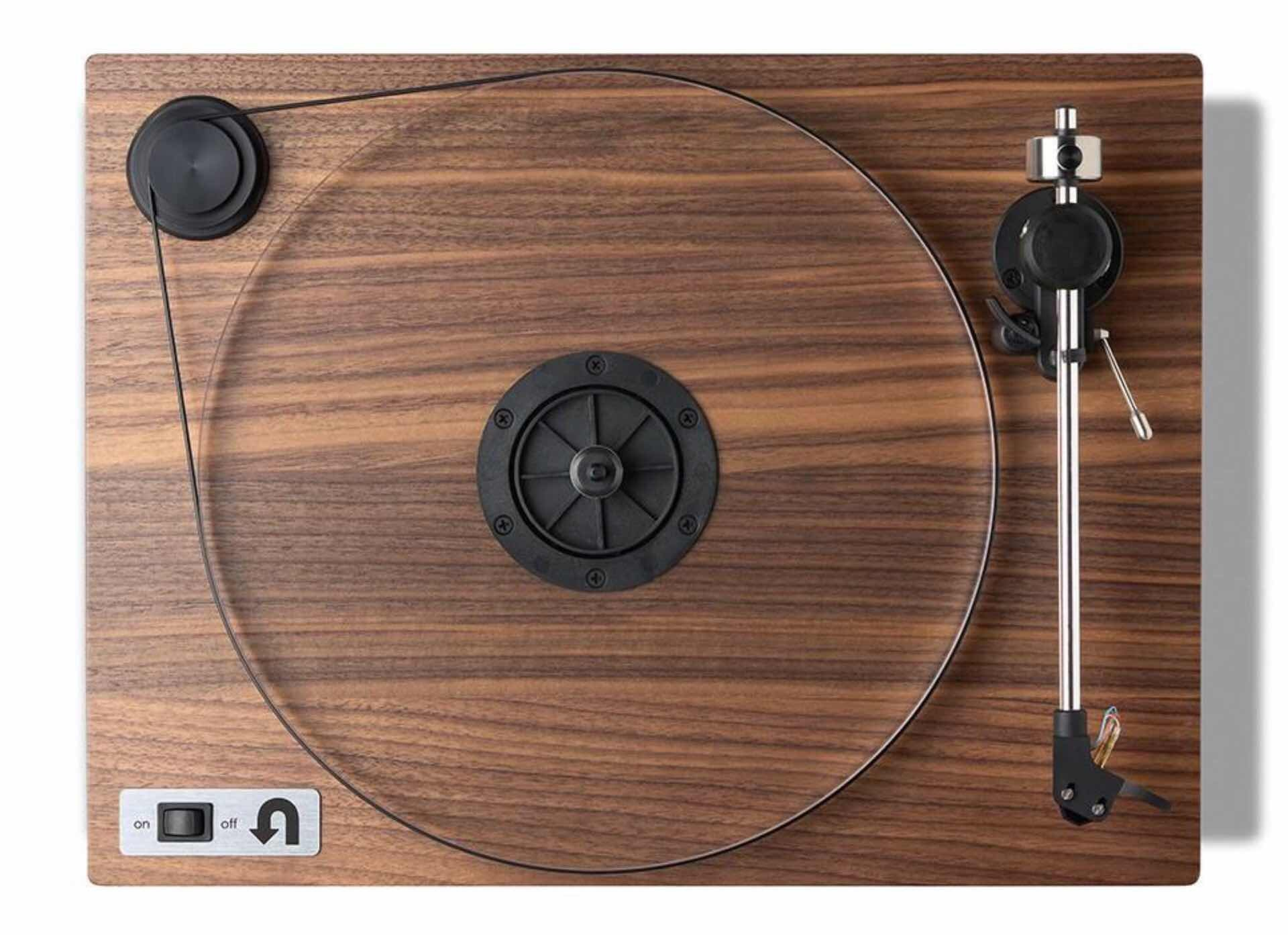 "U-Turn's ""Orbit Special"" hardwood turntable. ($549 with preamp, $479 without)"