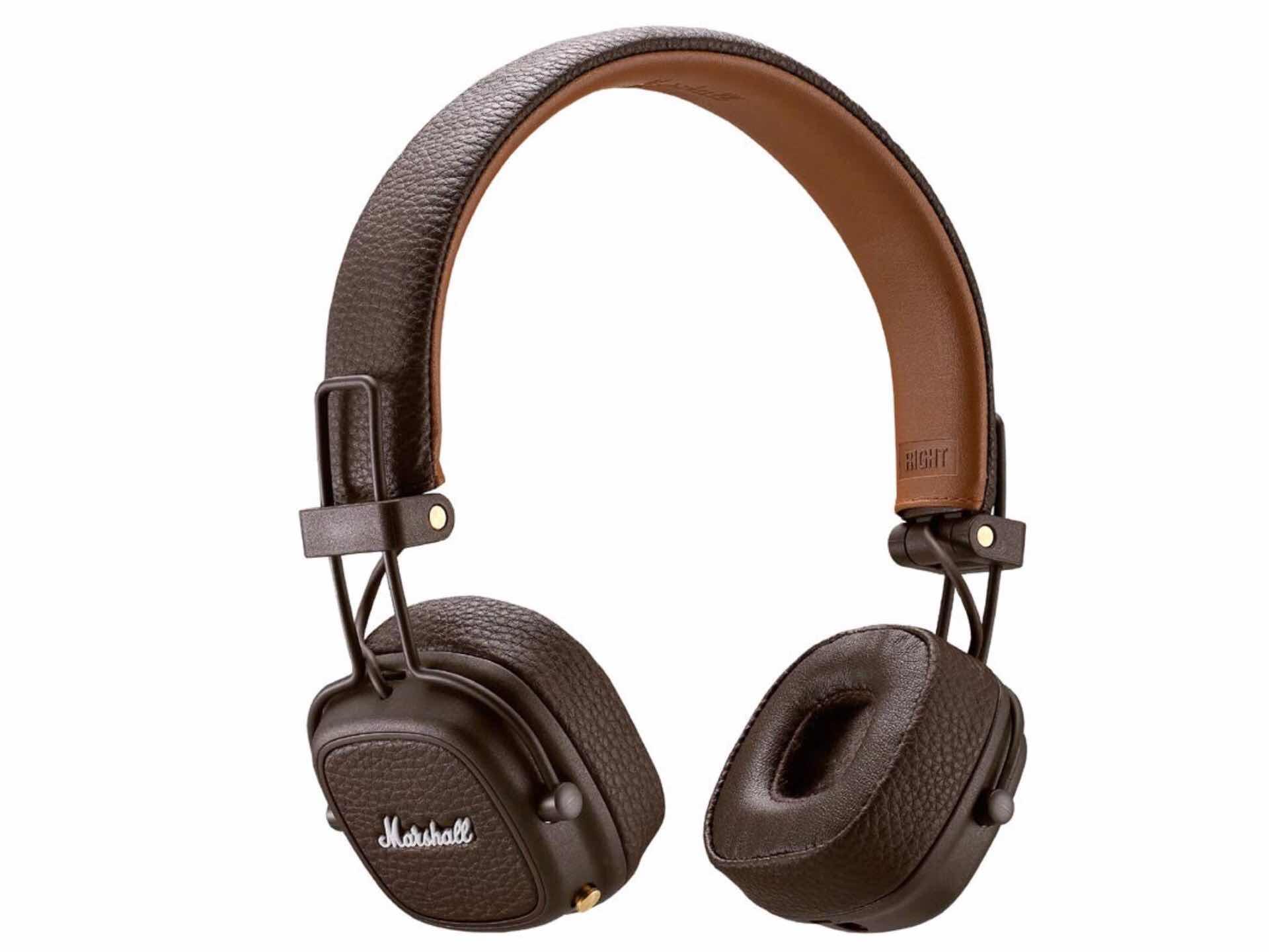 """Marshall """"Major III"""" Bluetooth headphones. ($112)"""