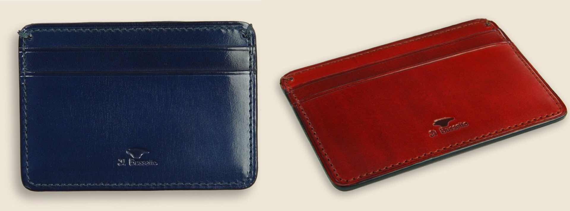 Il Bussetto Credit Card Case. ($48)