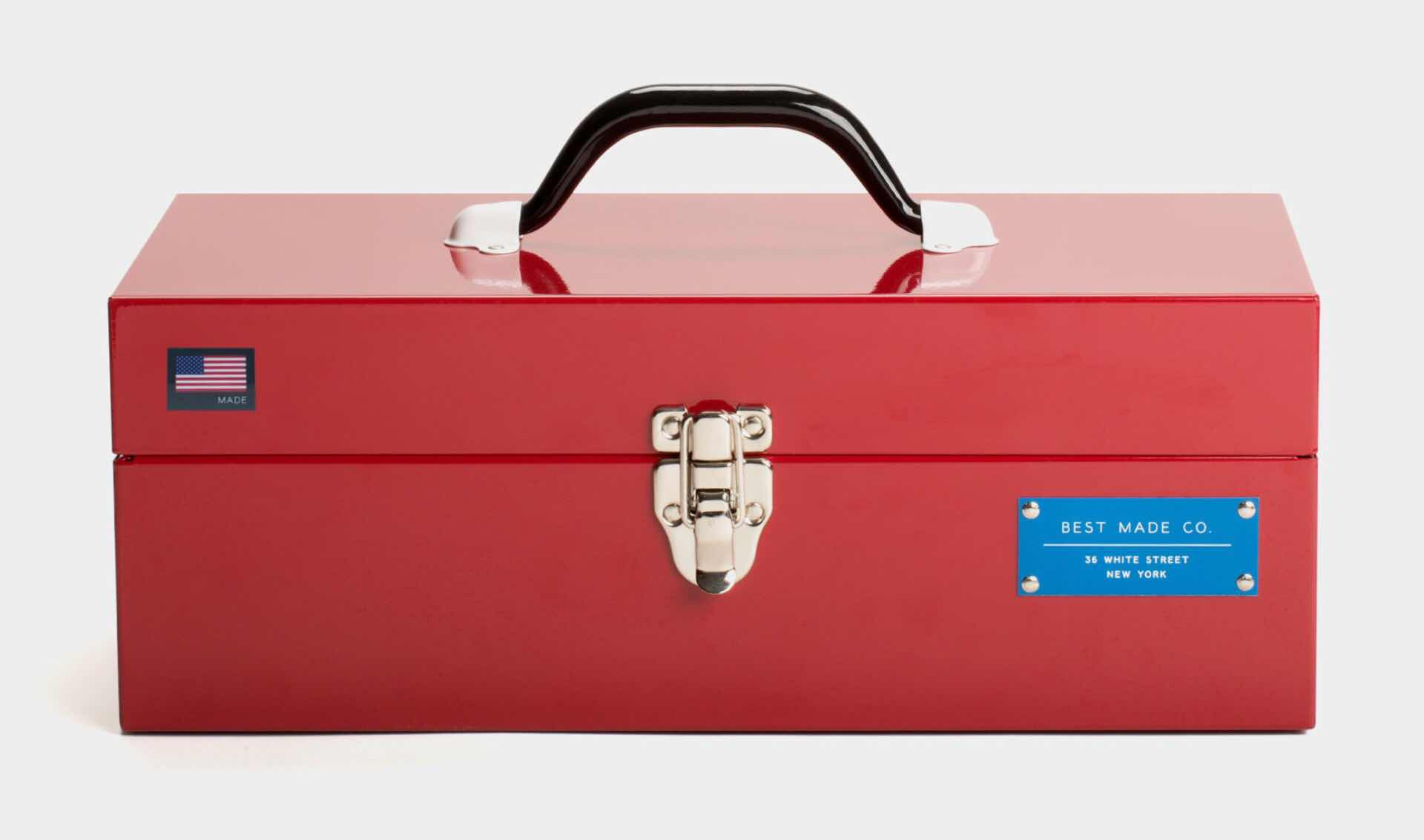 "Best Made Co.'s 15"" toolbox. ($88)"
