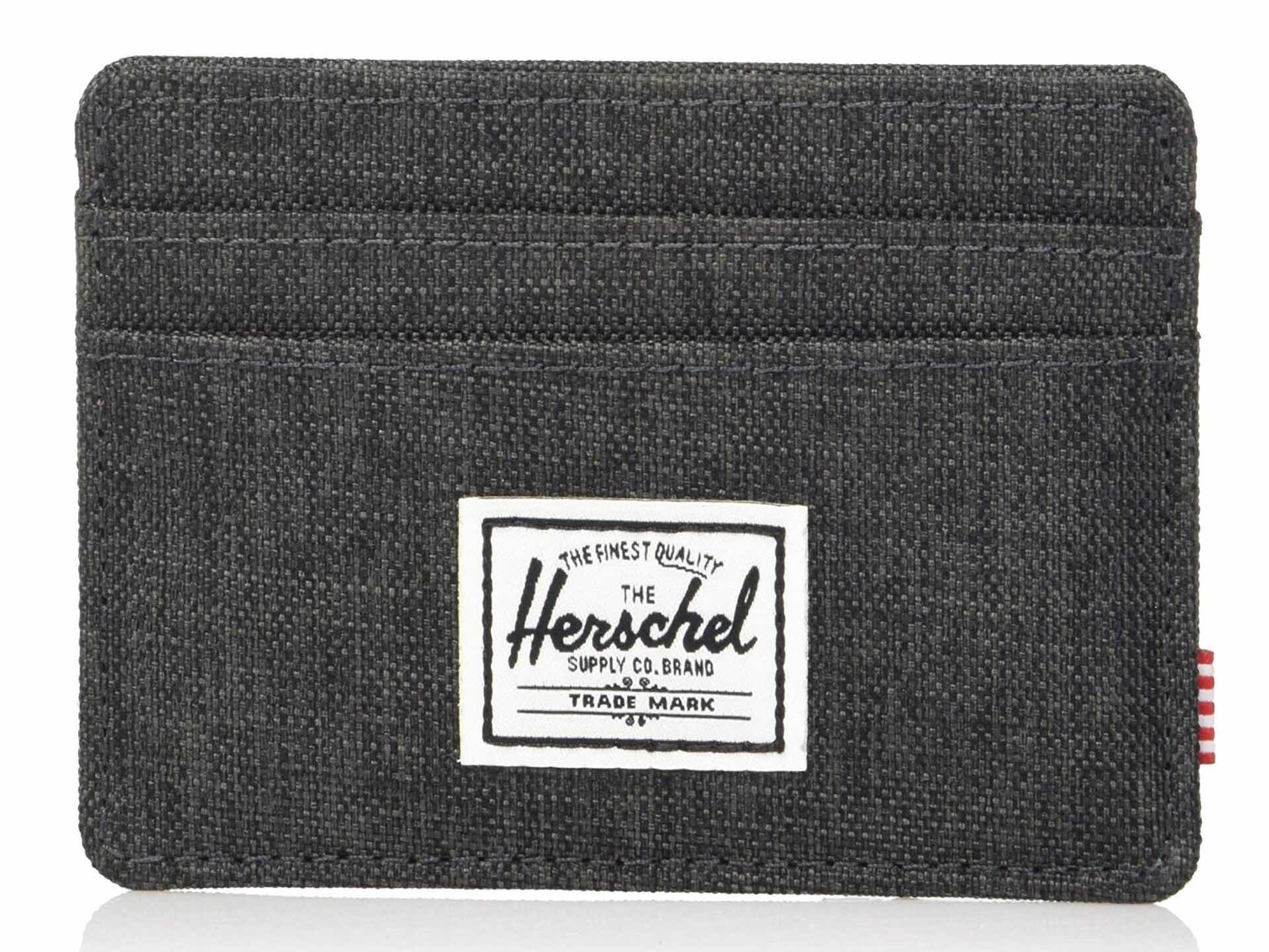 "Herschel Supply ""Charlie"" wallet. ($19–$25)"