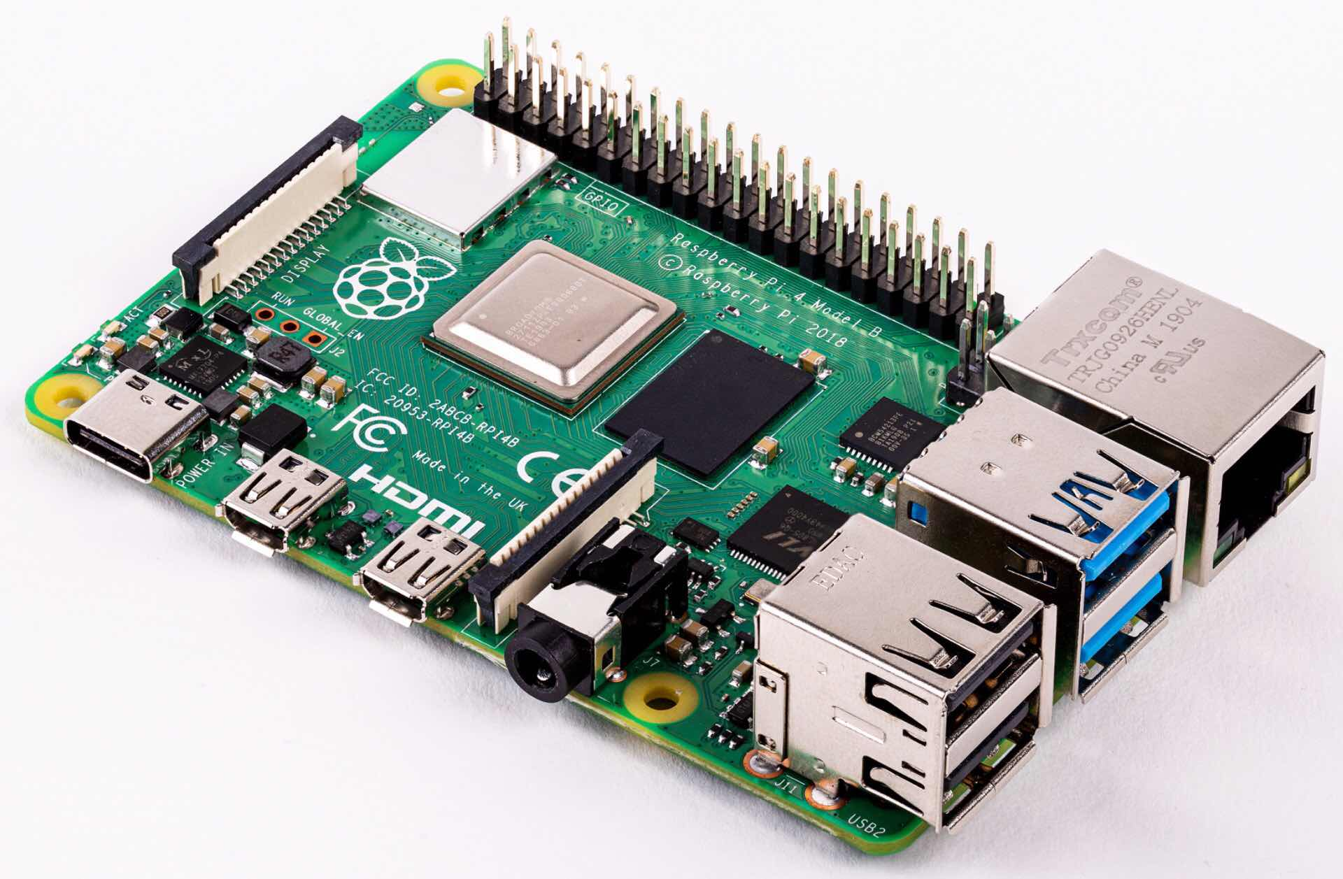 The Raspberry Pi 4 mini-computer. ($53 for 1GB RAM, $63 for 2GB RAM, and $73 for 4GB RAM)