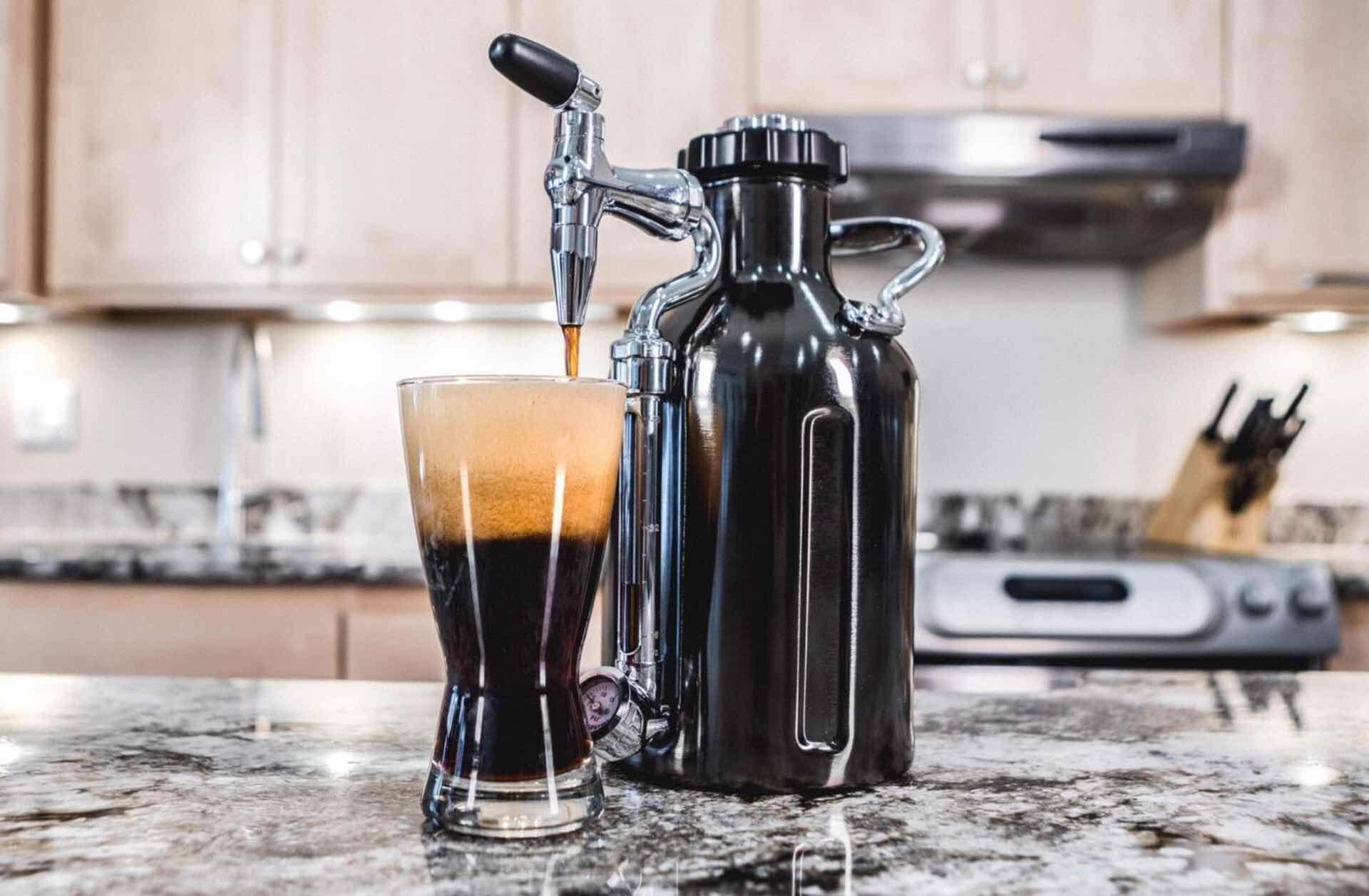 GrowlerWerks uKeg Nitro cold brew coffee maker. ($169)