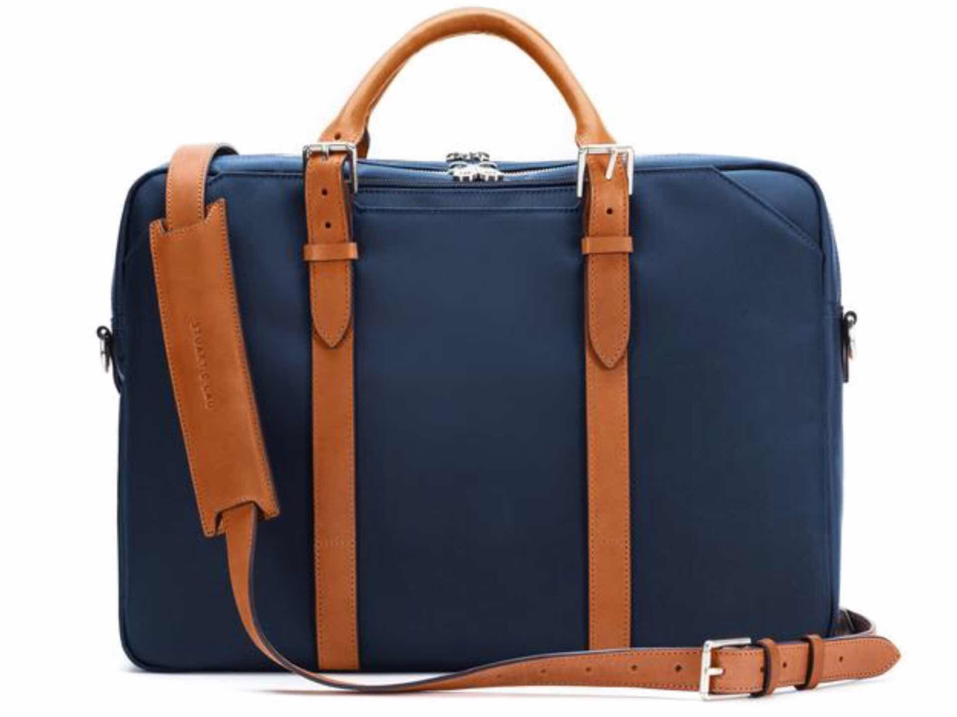 Stuart & Lau Cary Briefcase. ($295–$350 depending on size)