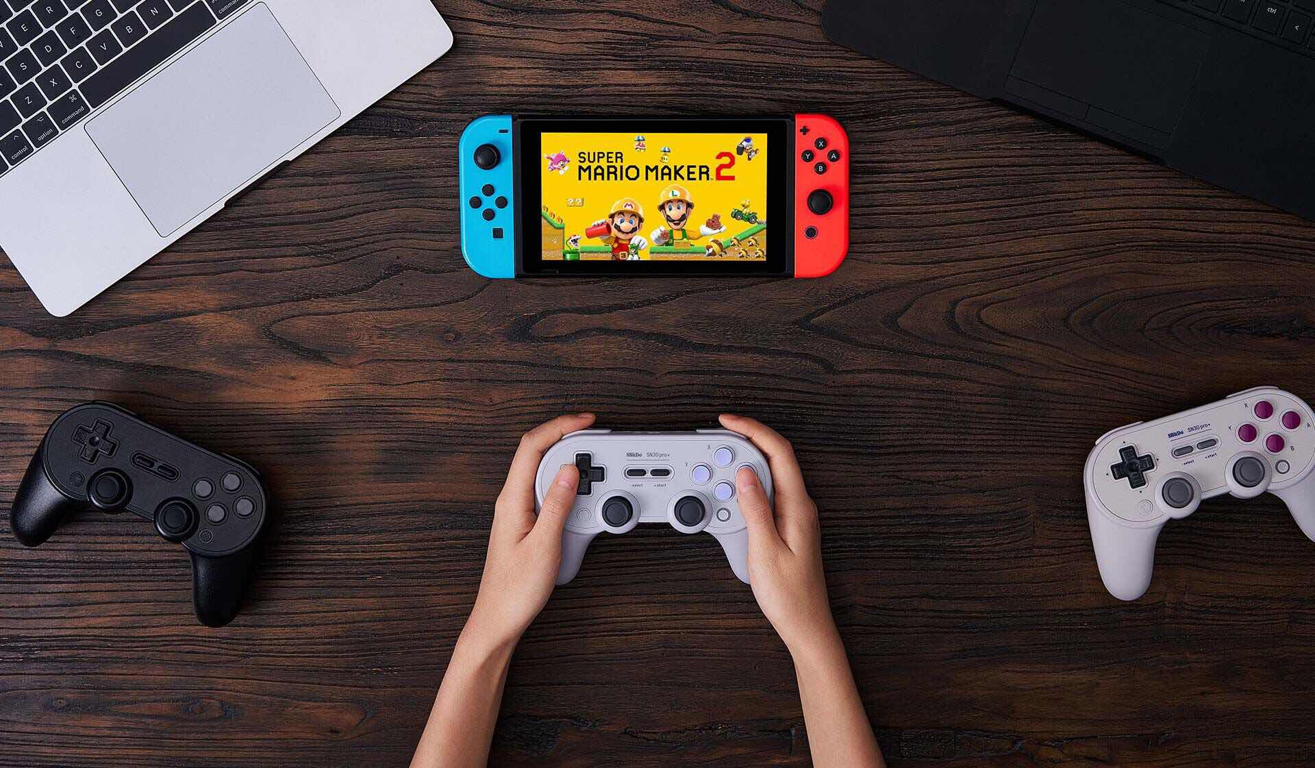8bitdo-sn30-pro-plus-bluetooth-gamepad