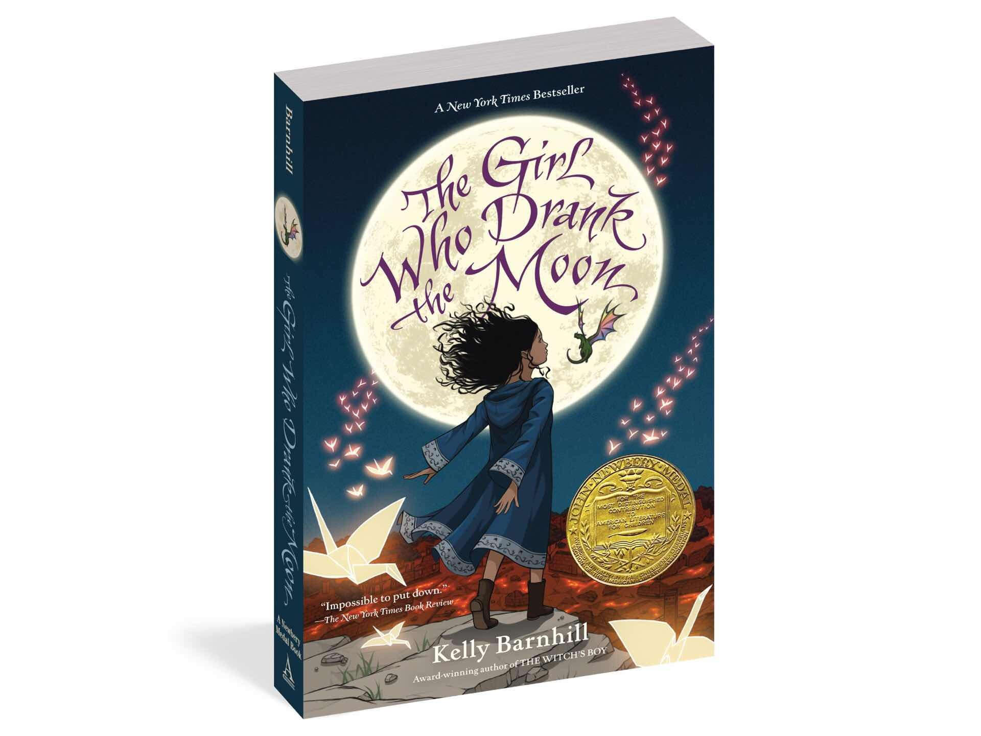 The Girl Who Drank the Moon by Kelly Barnhill.