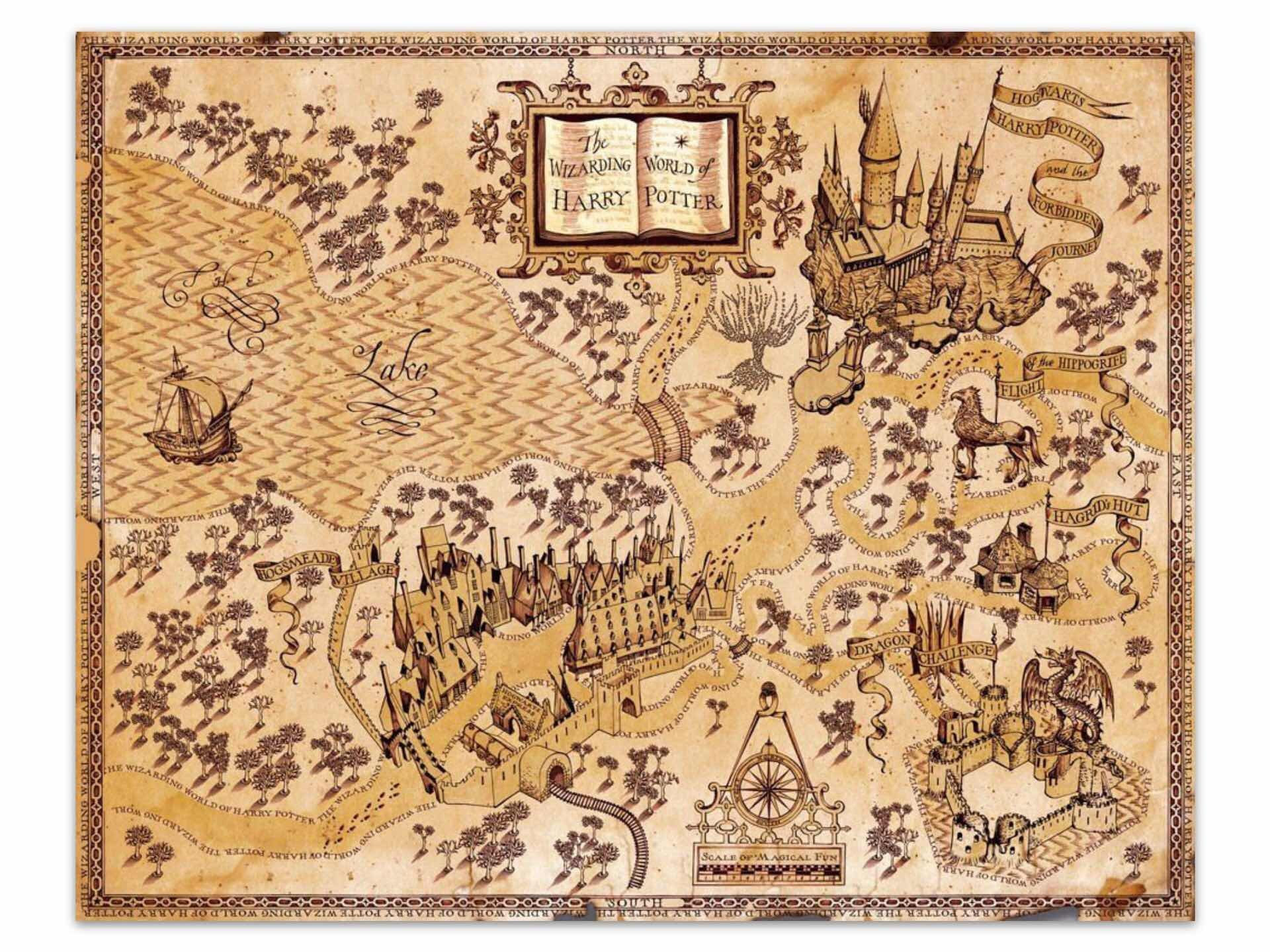 Maps Of Fictional Worlds Tools And Toys