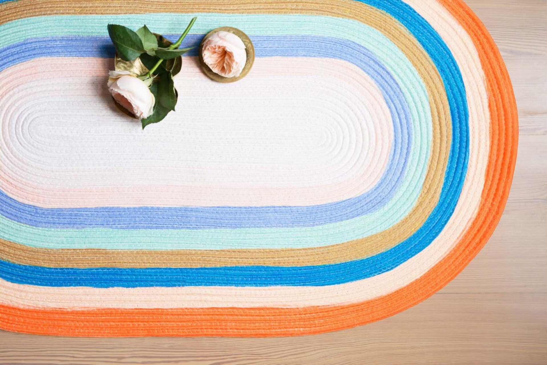 rifle-paper-x-loloi-painted-stripe-braided-rug-collection-lifestyle