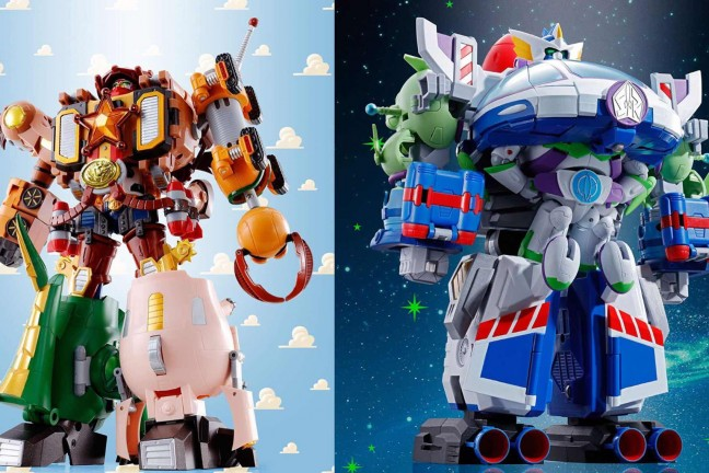 Disney and Bandai's Toy Story-themed mecha sets. (~$140 each)