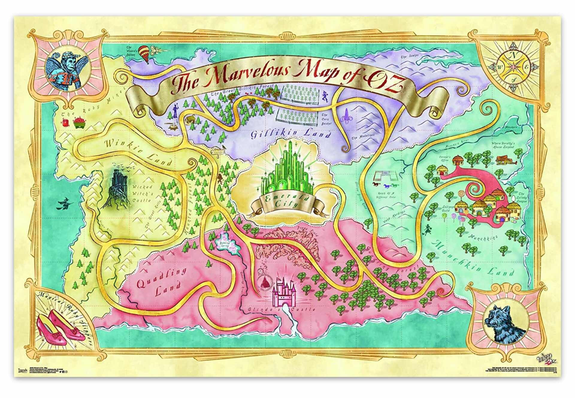 maps-of-fictional-worlds-guide-wizard-of-oz