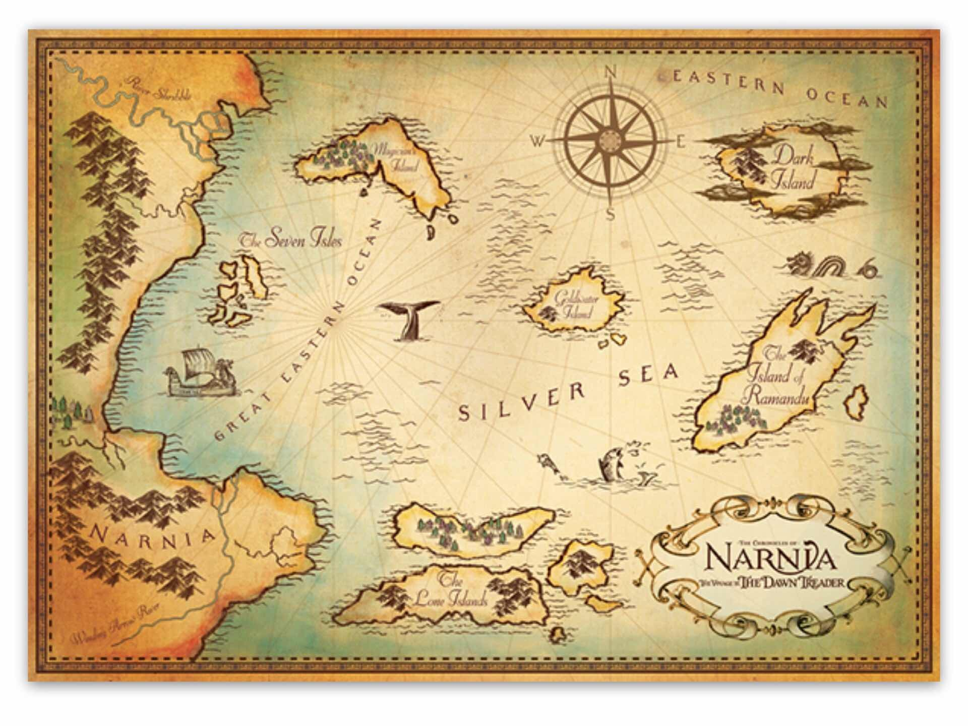 maps-of-fictional-worlds-guide-chronicles-of-narnia-voyage-of-the-dawn-treader