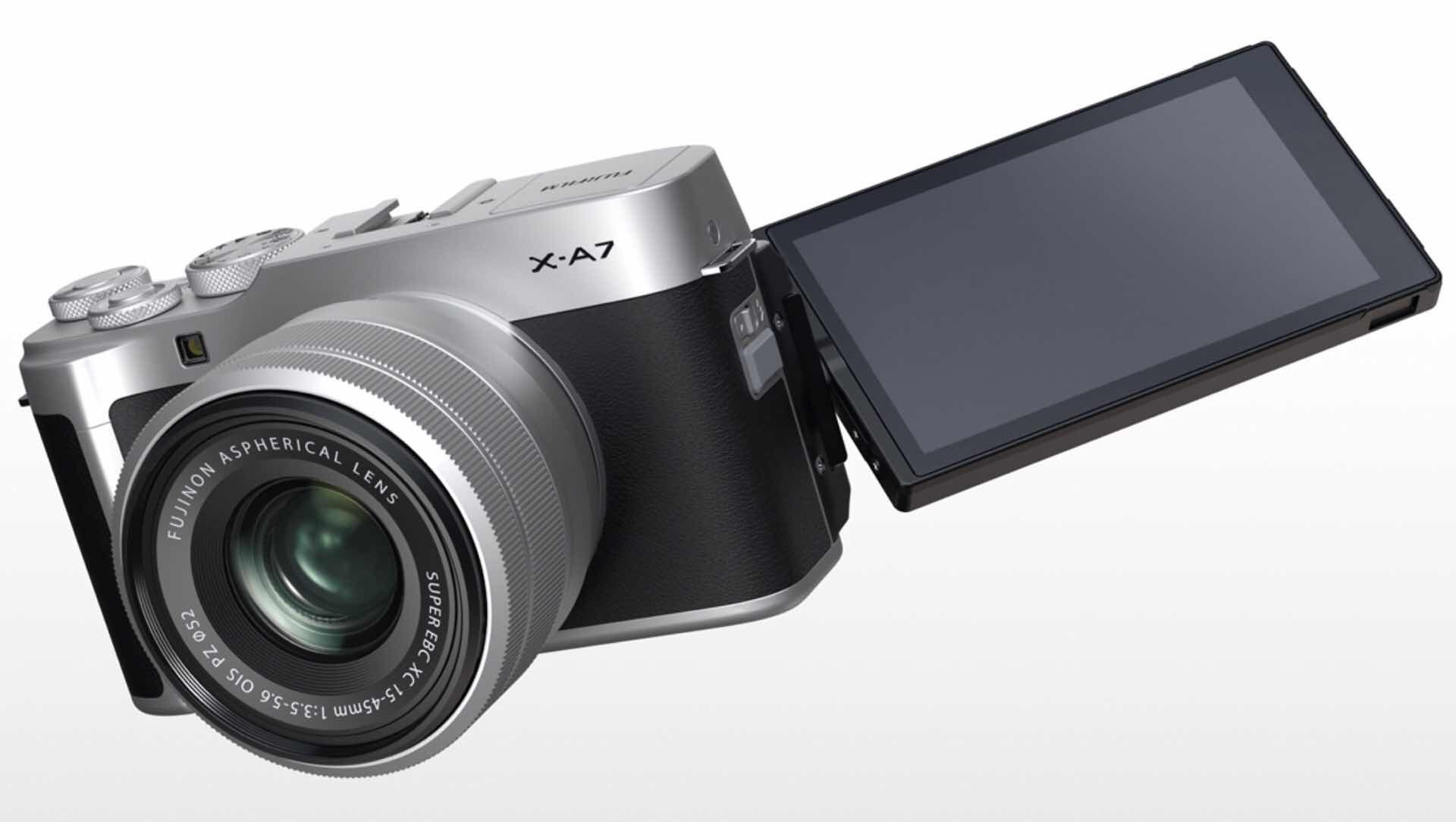 fujifilm-x-a7-mirrorless-digital-camera-display