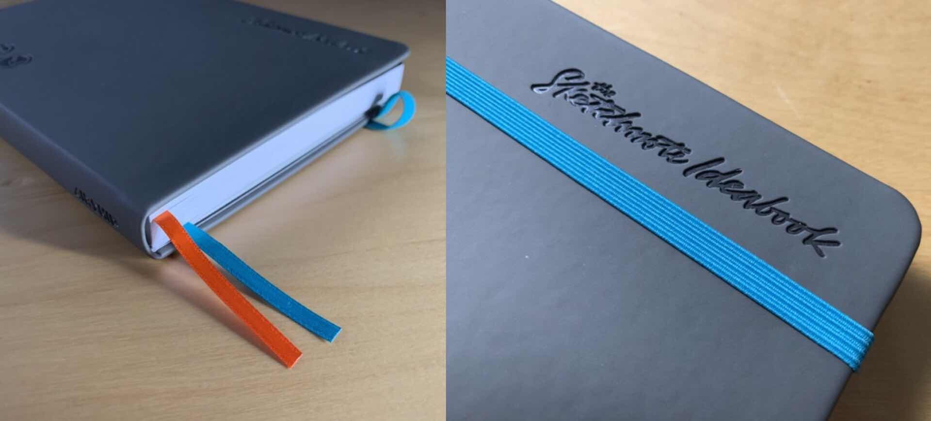 the-sketchnote-ideabook-bookmark-ribbons-and-elastic-strap