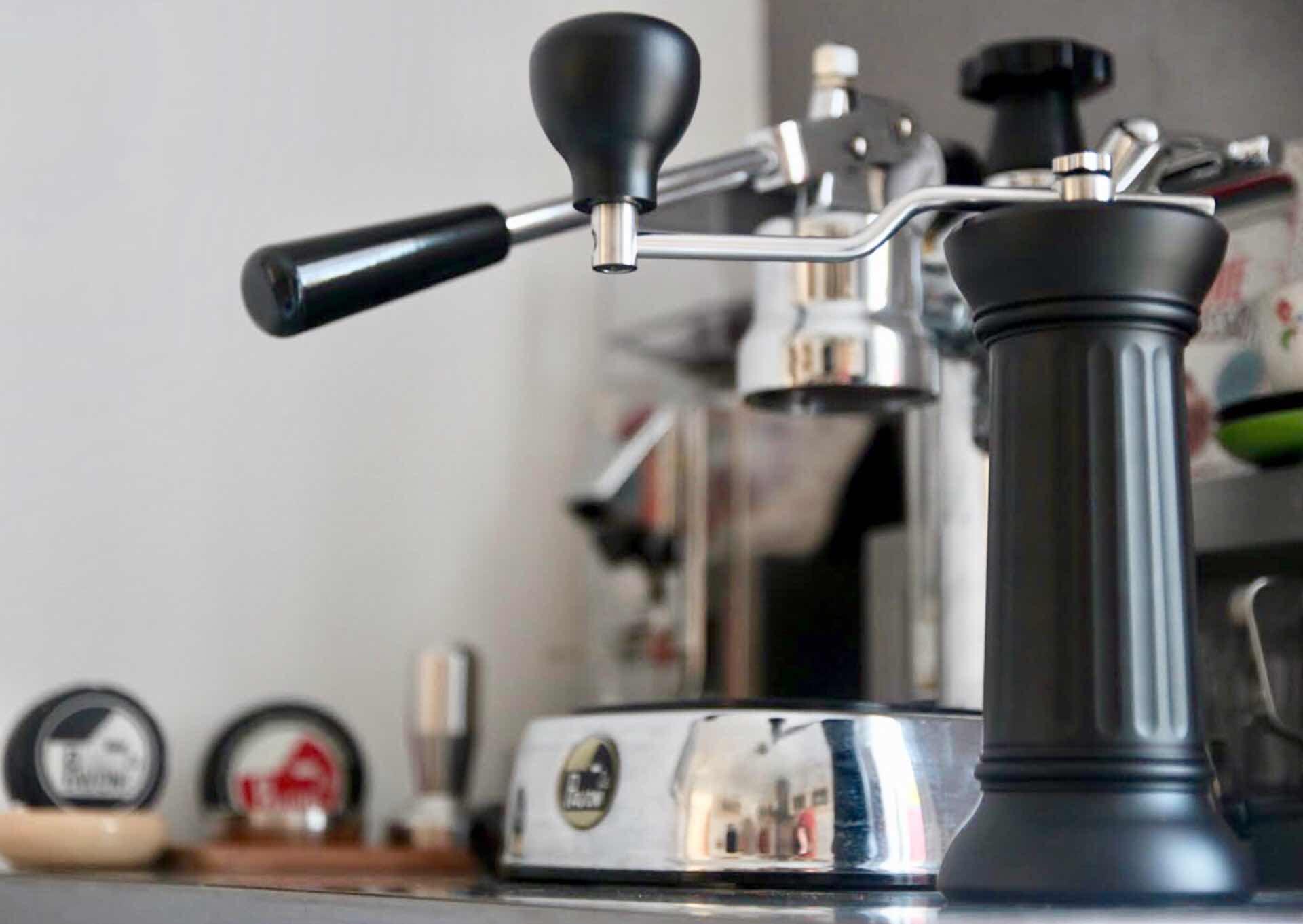 "La Pavoni's ""Apollo"" manual coffee grinder. ($280)"