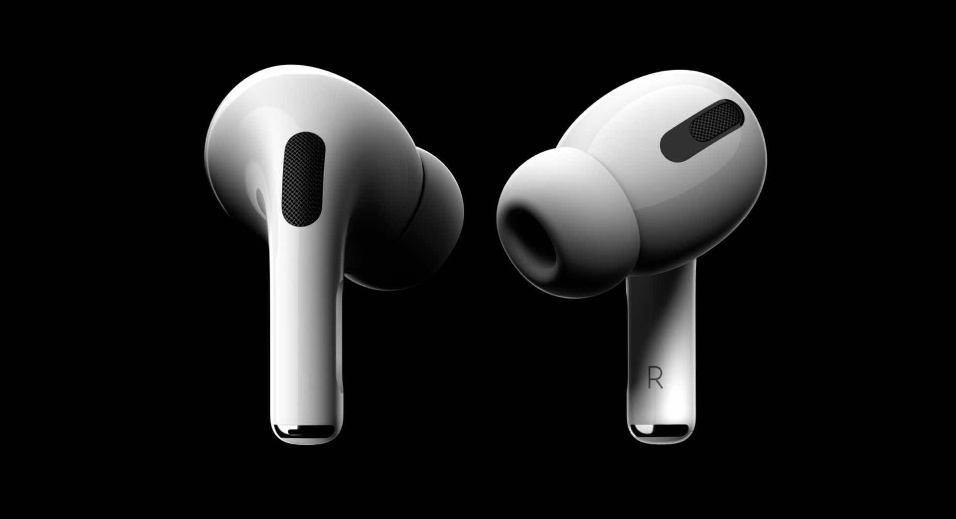 Apple's new AirPods Pro earbuds. ($249)