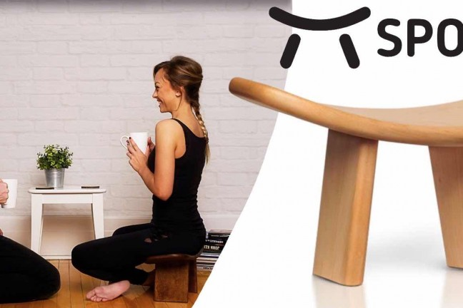 SPOKO meditation bench. ($149)