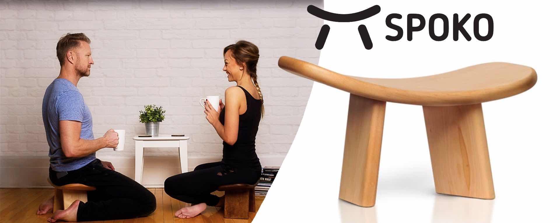 SPOKO meditation bench. ($149)