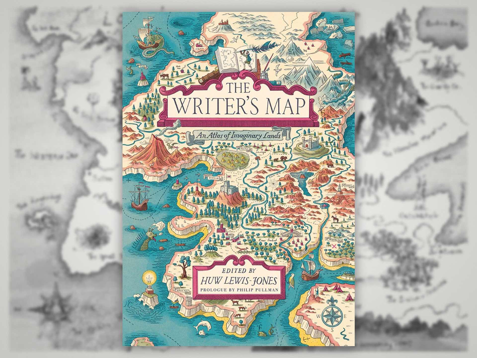 The Writer's Map: An Atlas of Imaginary Lands by Huw Lewis-Jones. ($31 hardcover)
