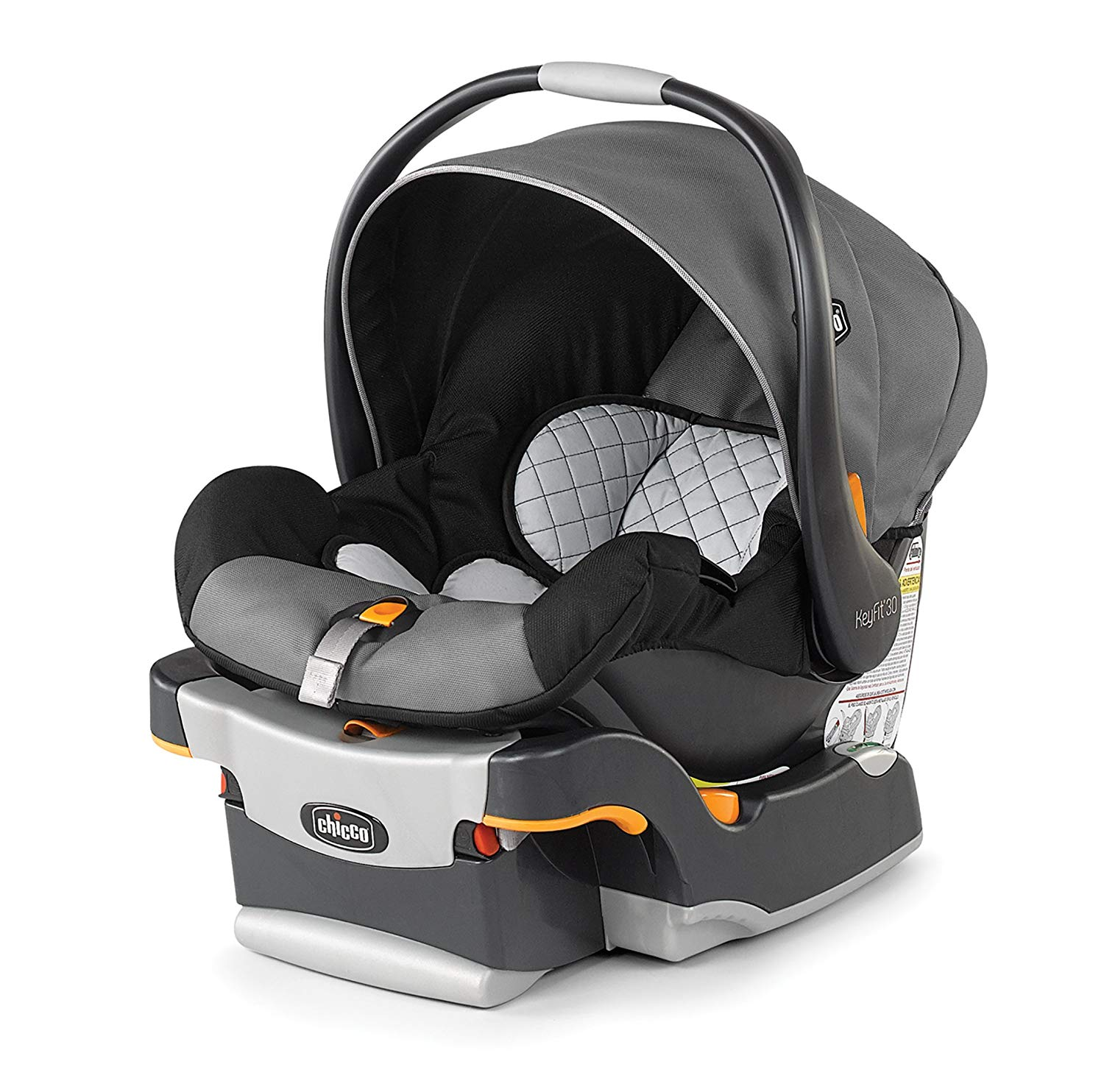 The Chicco Key Fit 30 infant car seat. ($200 for each of the five available colorways)