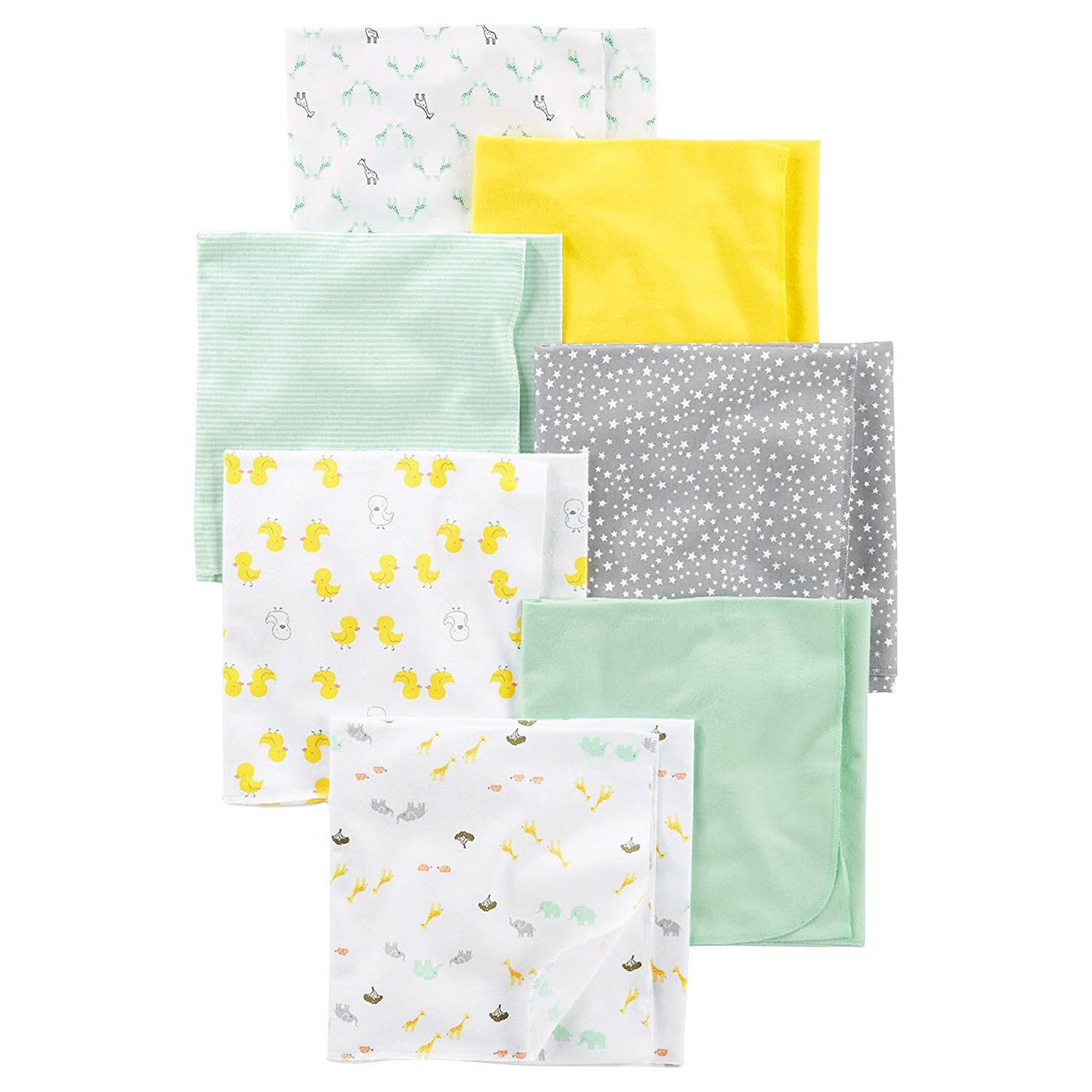 Simple Joys flannel receiving blankets. ($16 for a 7-pack)