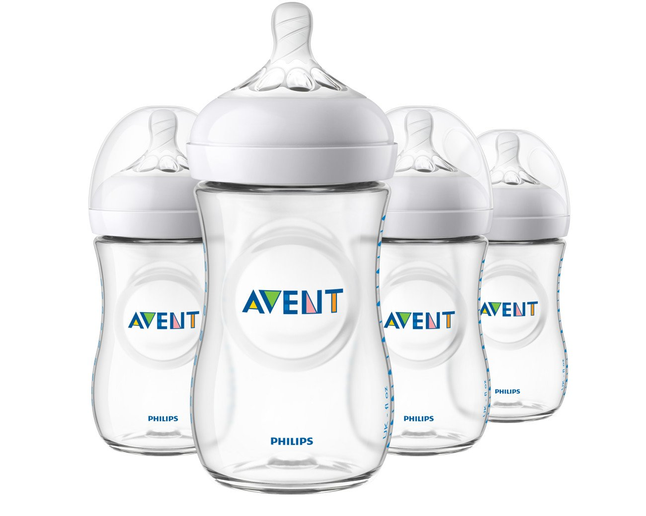 Philips AVENT Natural baby bottles. ($29 for a 4-pack)