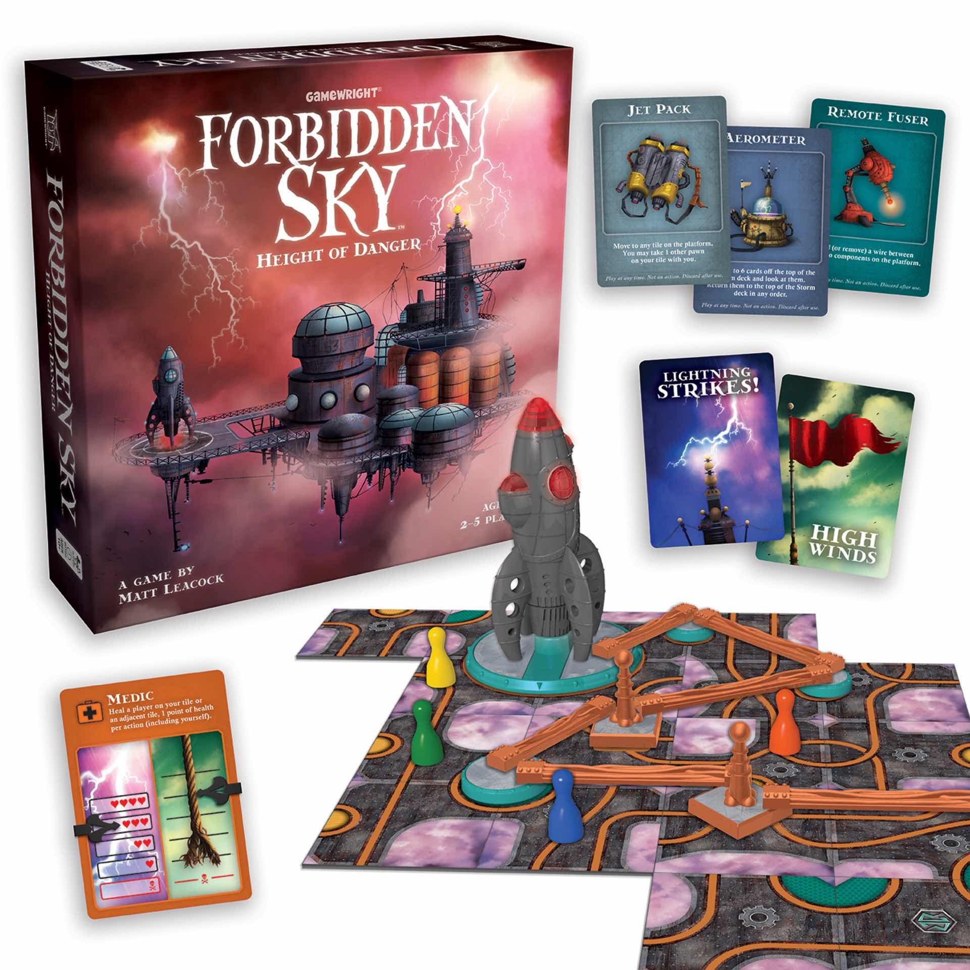 Forbidden Sky co-op board game. ($20)