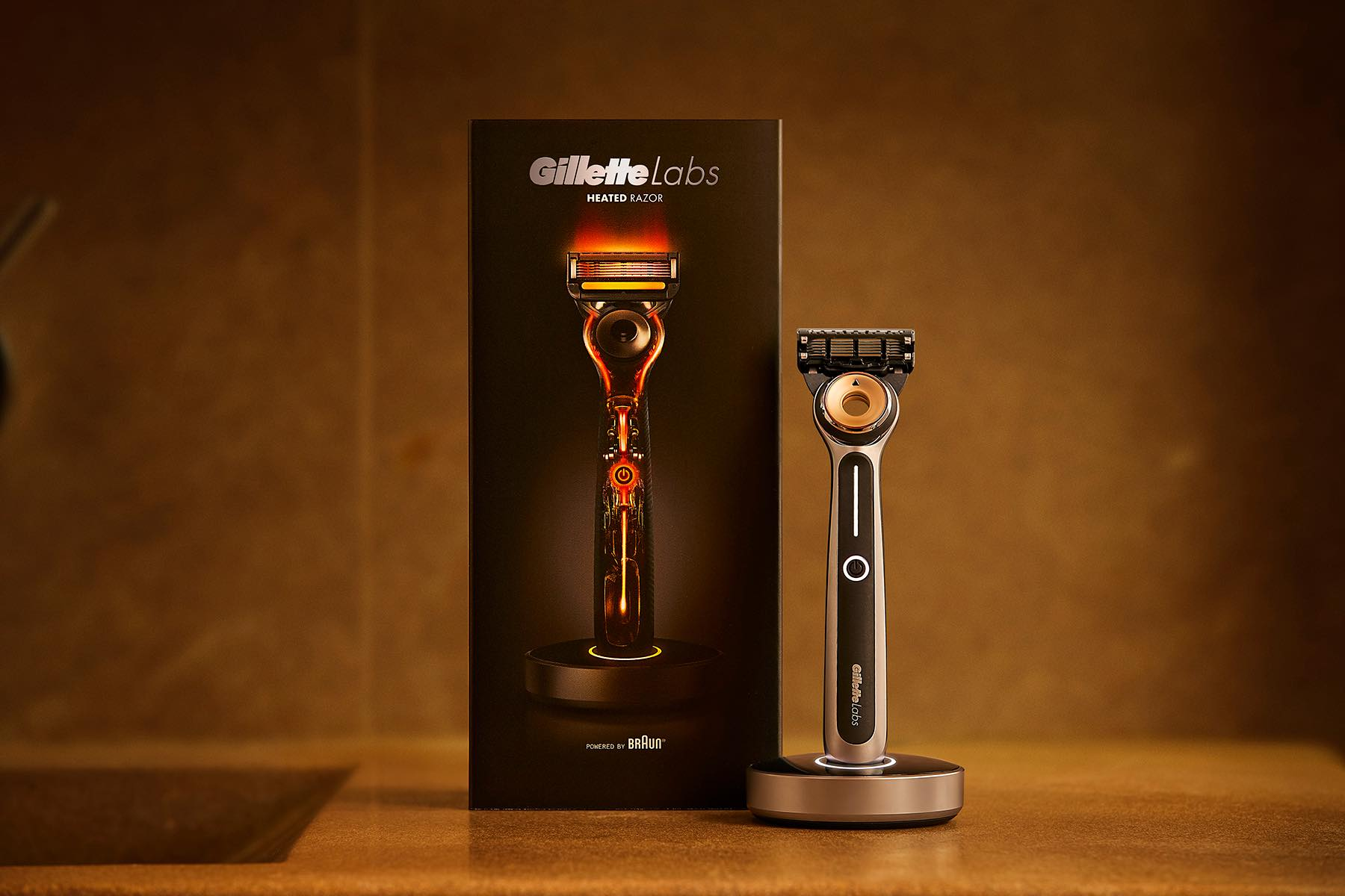 The heated razor by GilletteLabs. ($200)
