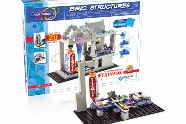 Snap Circuits BRIC: Structures kit. ($41)