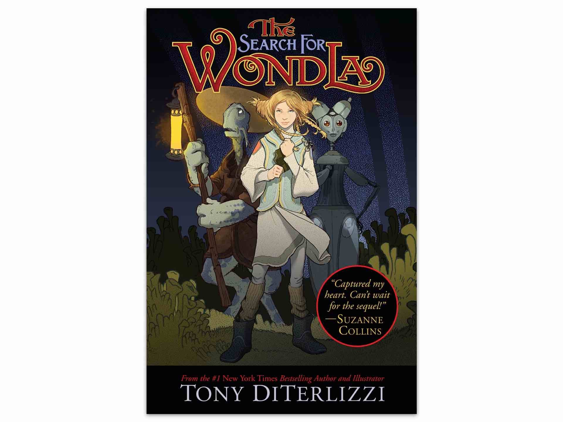 The Search for WondLa by Tony DiTerlizzi.