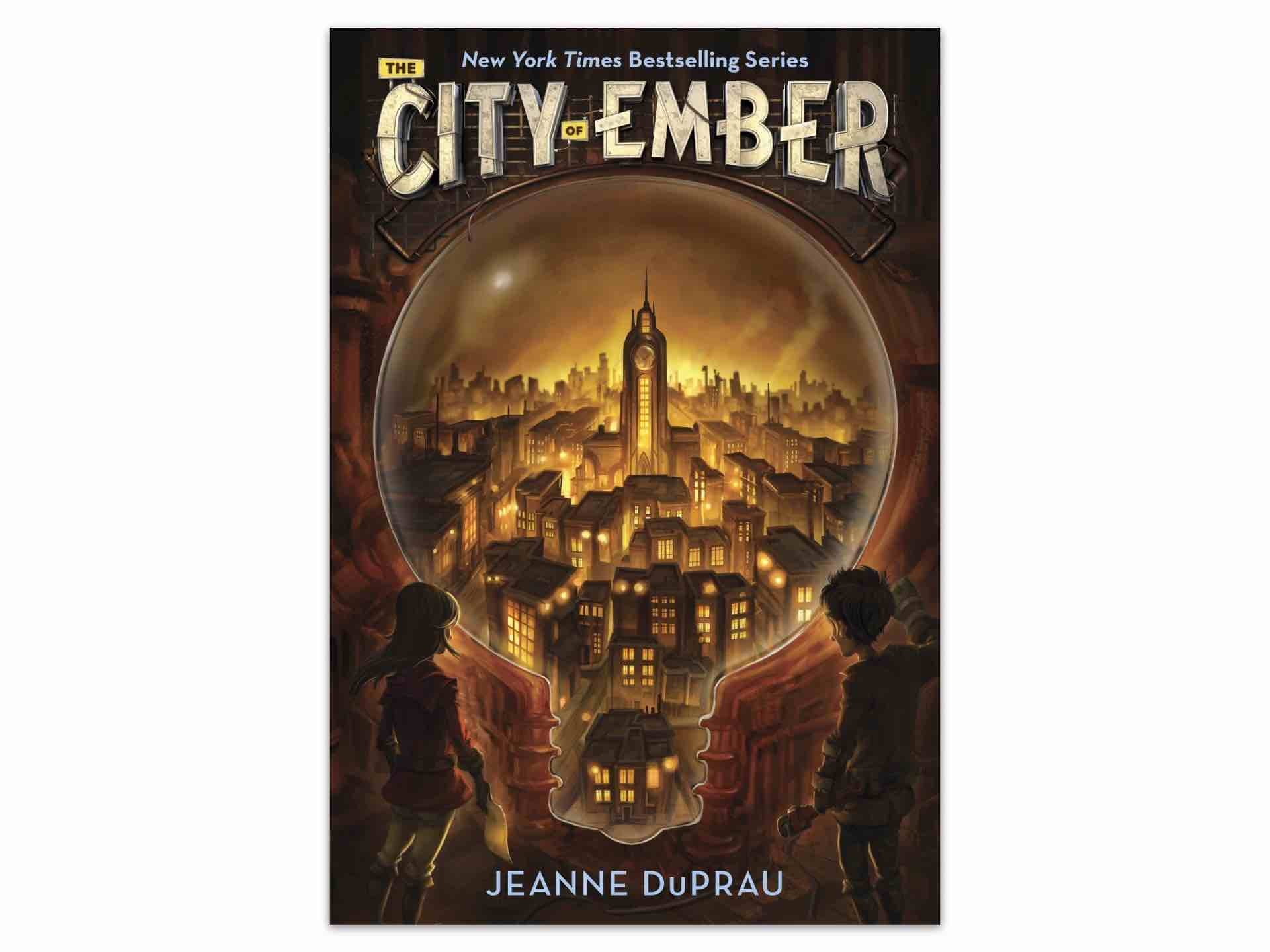 The City of Ember by Jeanne DuPrau.