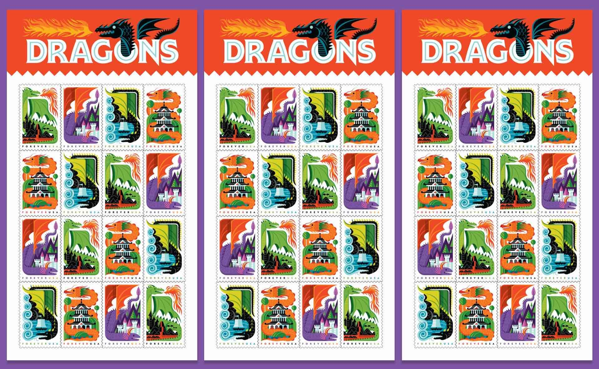 invisible-creature-usps-dragons-forever-usa-postage-stamps-3