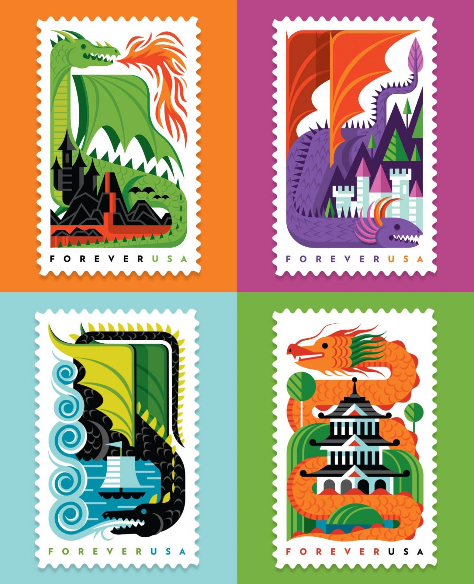 invisible-creature-usps-dragons-forever-usa-postage-stamps-2