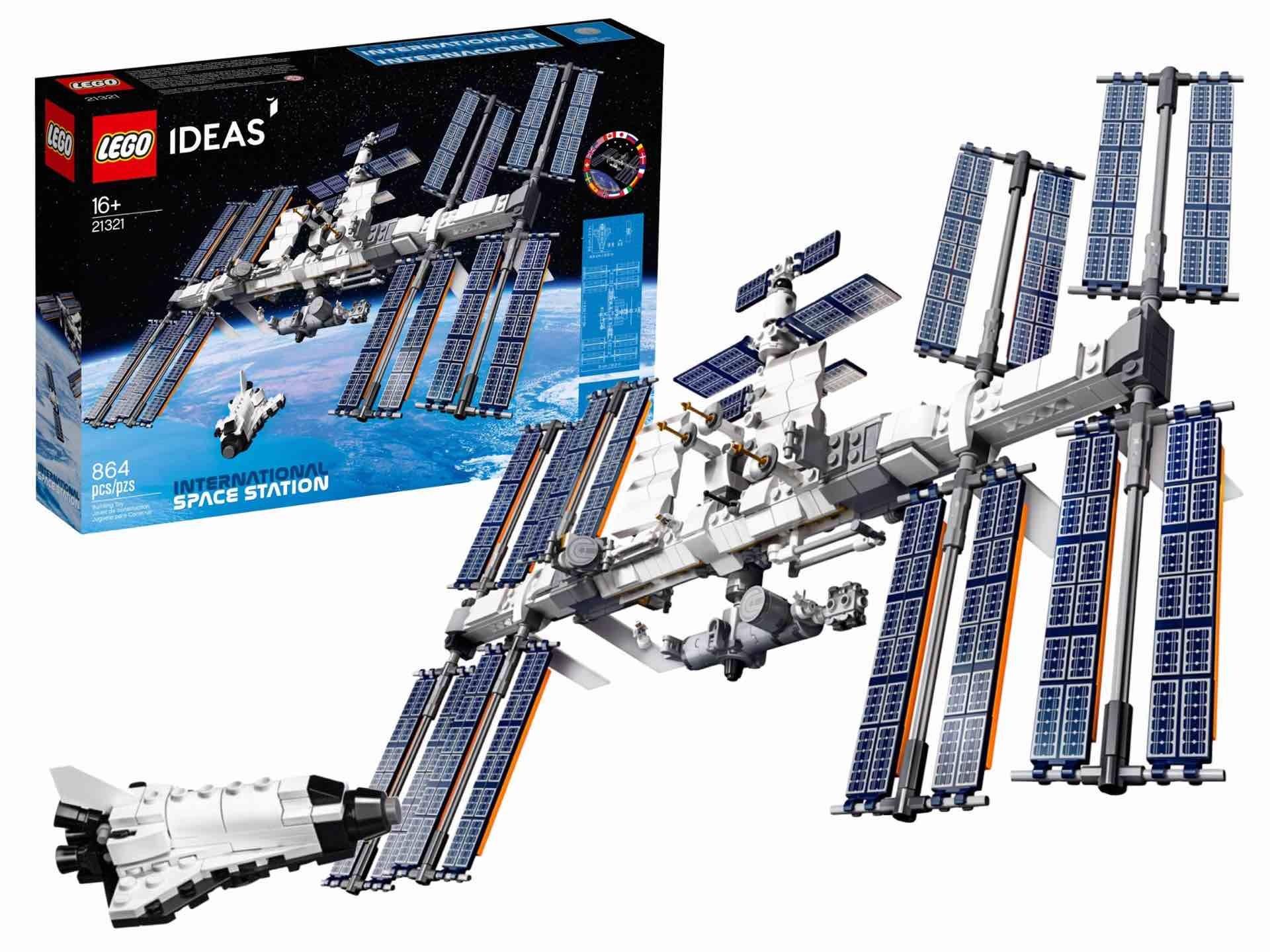 LEGO Ideas International Space Station set. ($70)