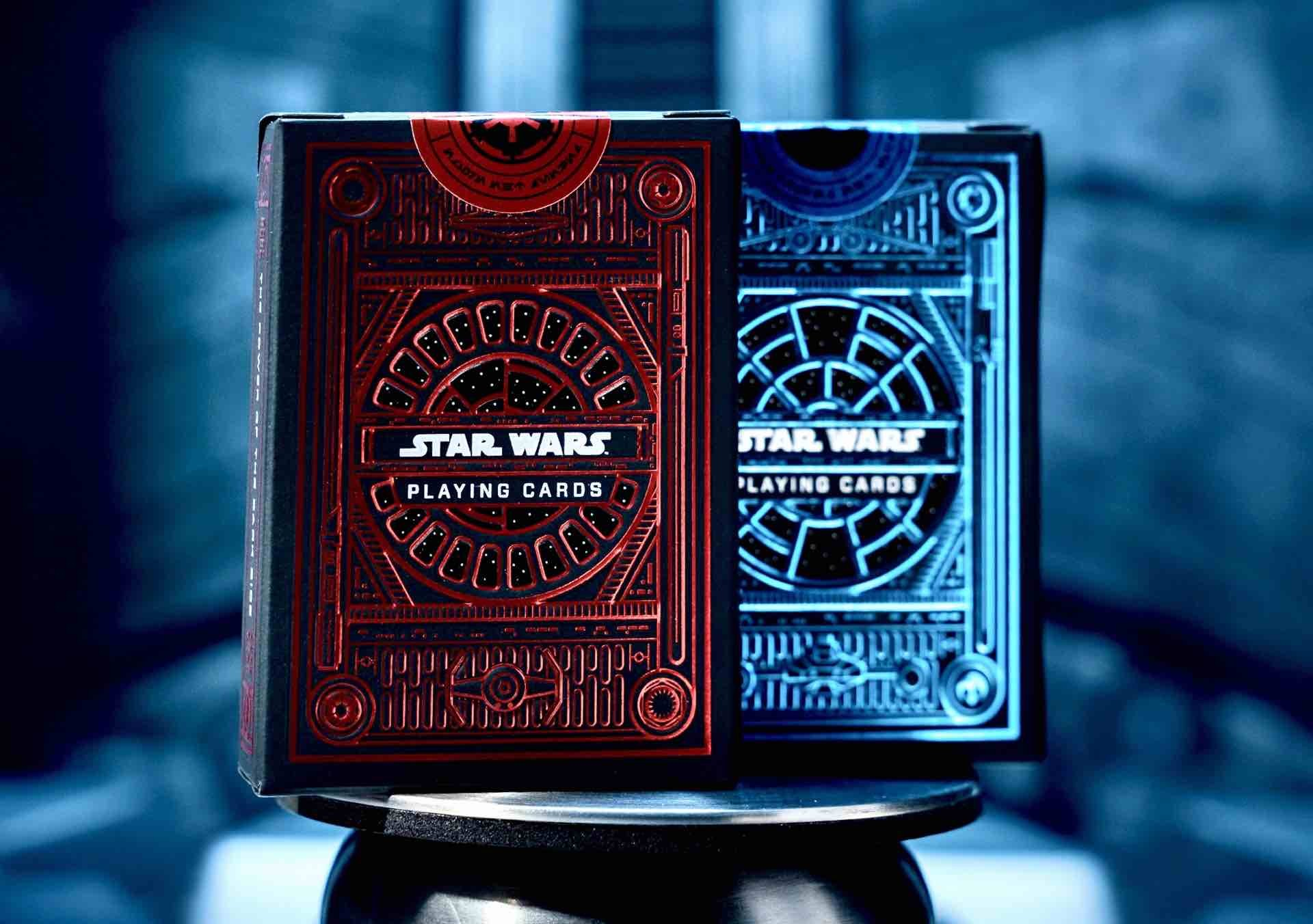 Star Wars playing cards by theory11. ($10 per single deck)