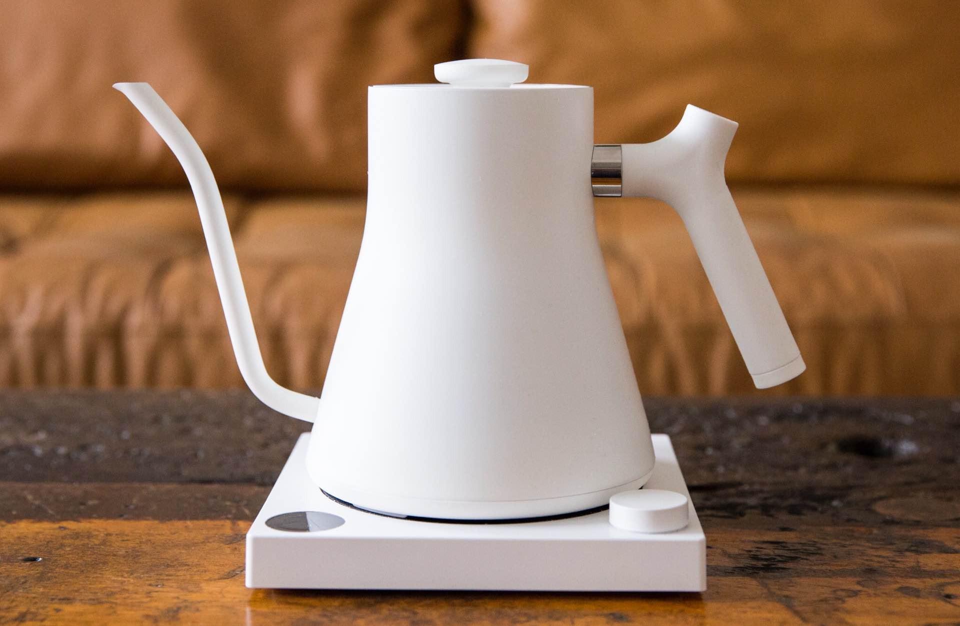 Fellow's Stagg EKG kettle in matte white. ($149)