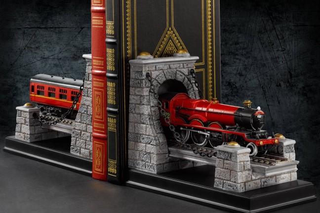 Harry Potter Hogwarts Express bookends. ($95 for the set)