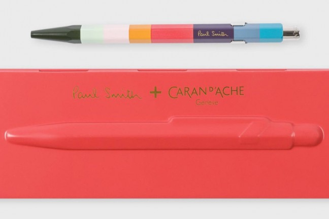 caran-dache-paul-smith-edition-artist-stripe-849-ballpoint-pen-and-case
