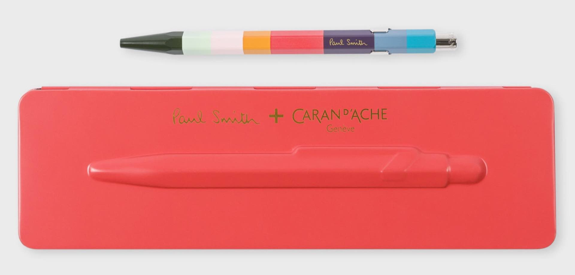"Caran d'Ache x Paul Smith Limited-Edition ""Artist Stripe"" 849 Ballpoint Pen — Tools and Toys"