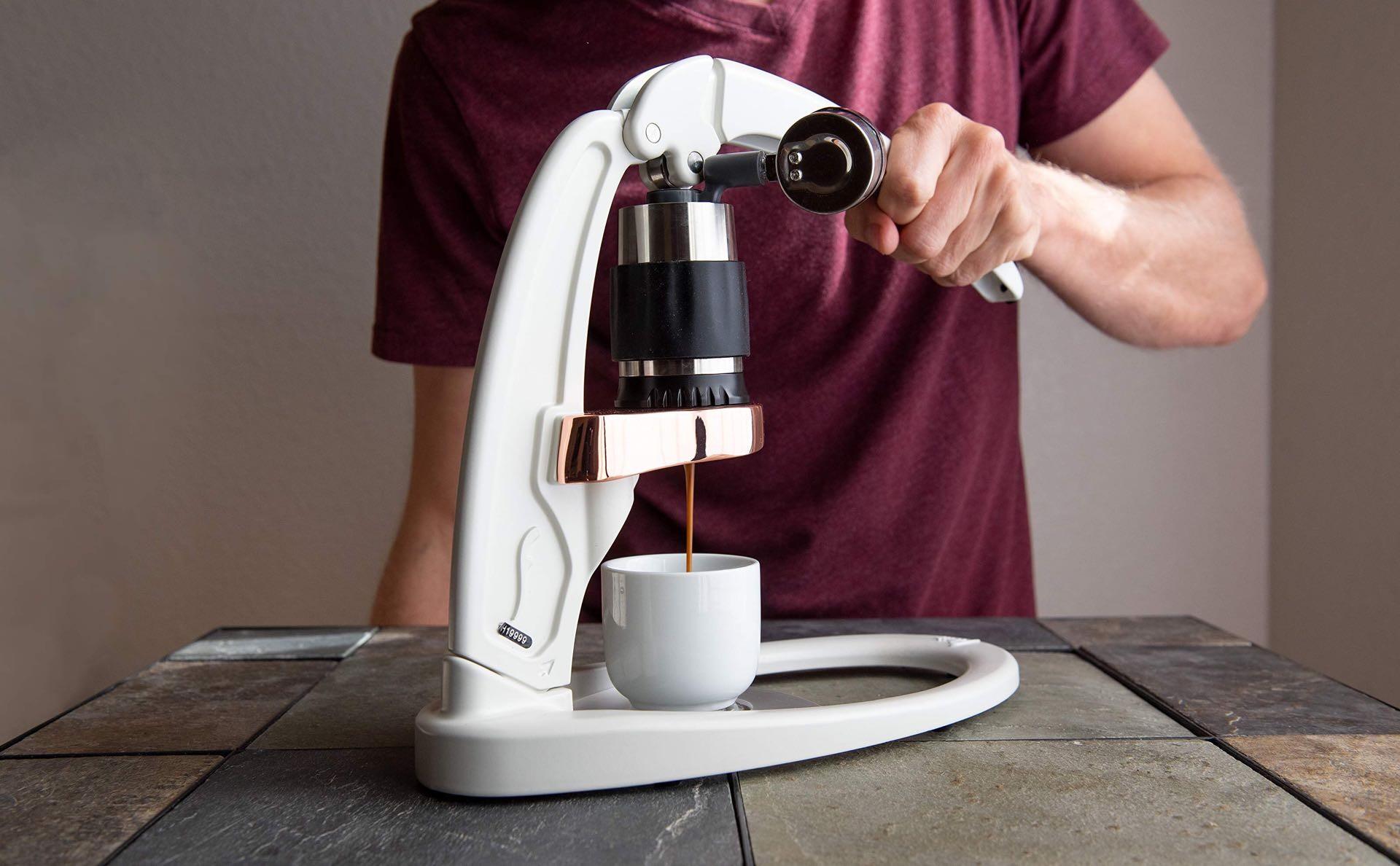 The Flair Signature espresso maker. ($239)
