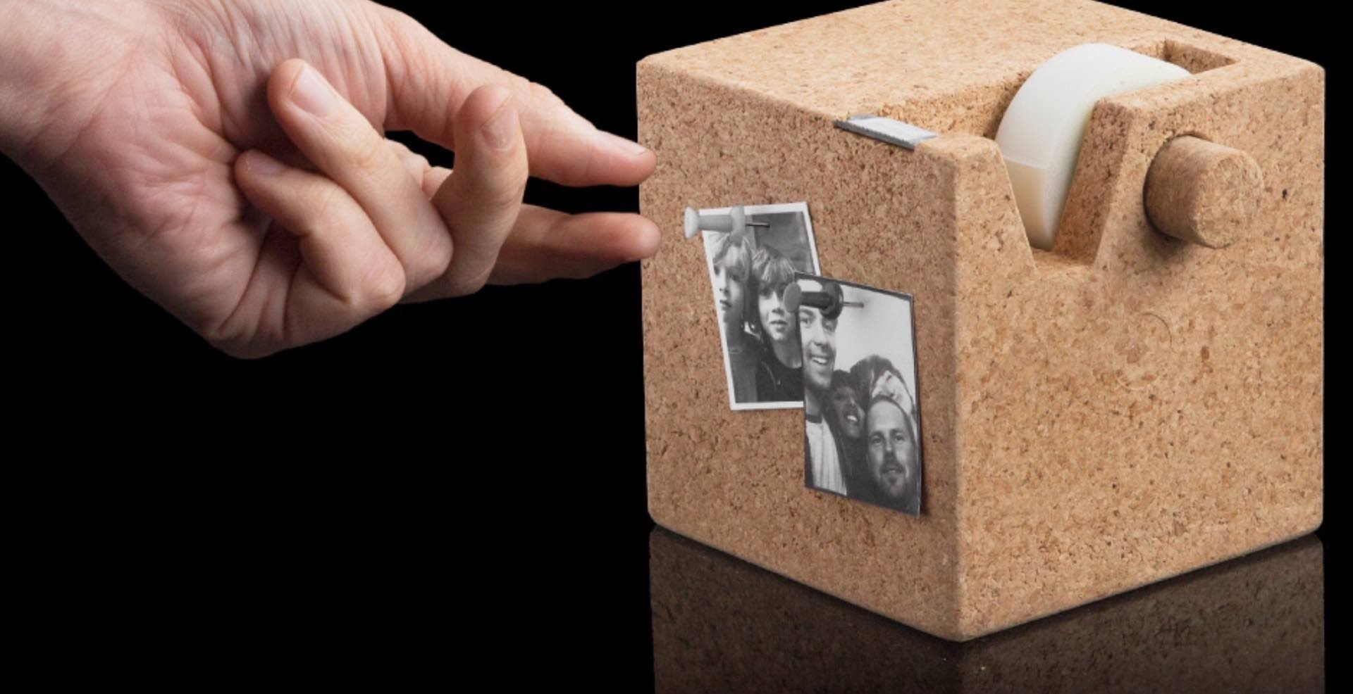 cork-cube-tape-dispenser-memo-board