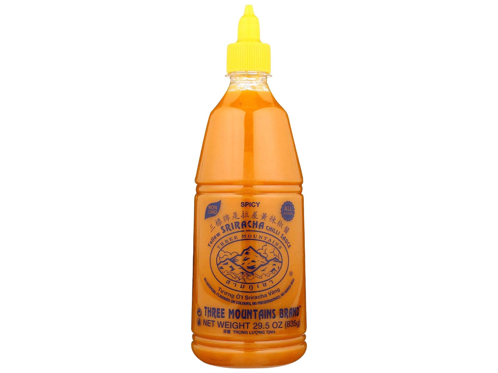 three-mountains-yellow-sriracha-sauce