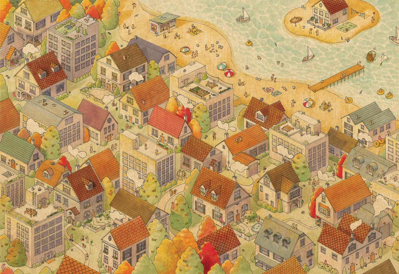 """""""The Sunny City"""" by Felicia Chiao"""