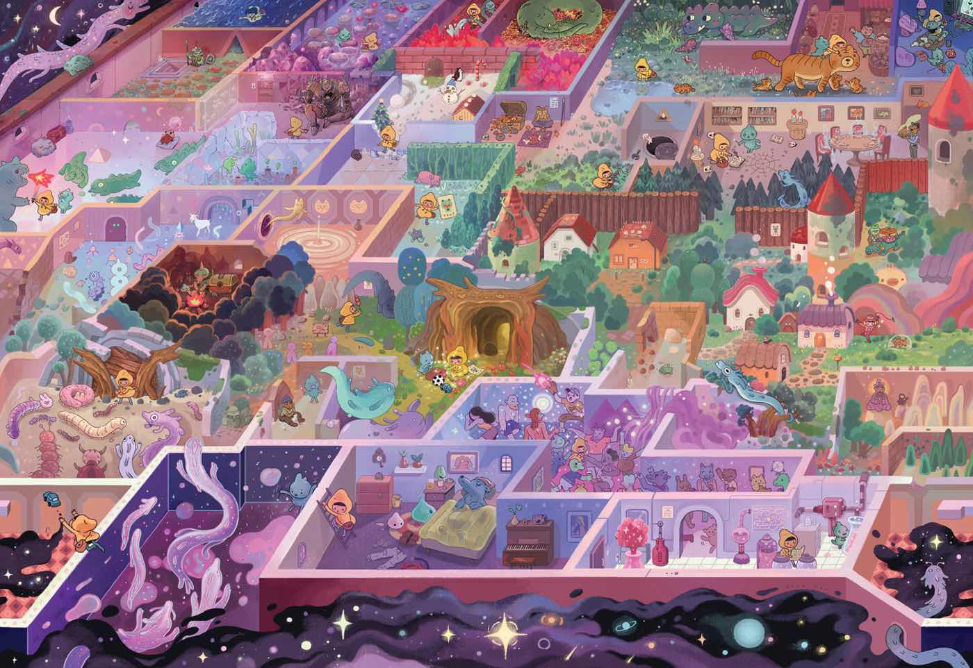 """The Mystic Maze"" by Boya Sun"