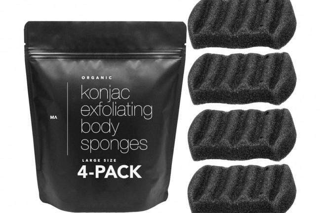 minamul-konjac-bamboo-charcoal-exfoliating-sponges