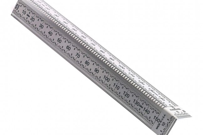 INCRA Tools Bend Rule. ($27–$41, depending on length)