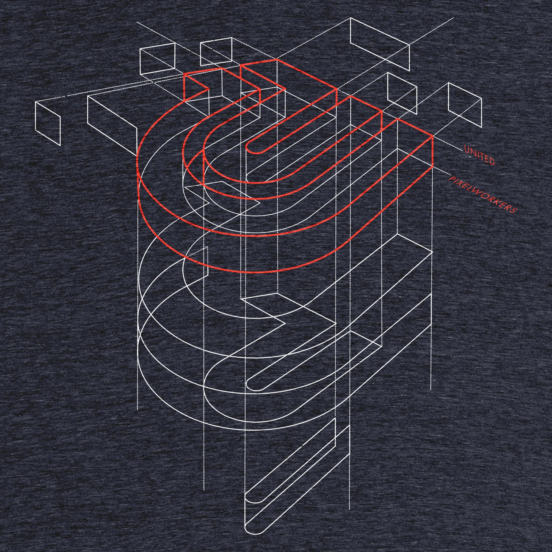 united-pixelworkers-chris-glass-blueprint-graphic-tee-design
