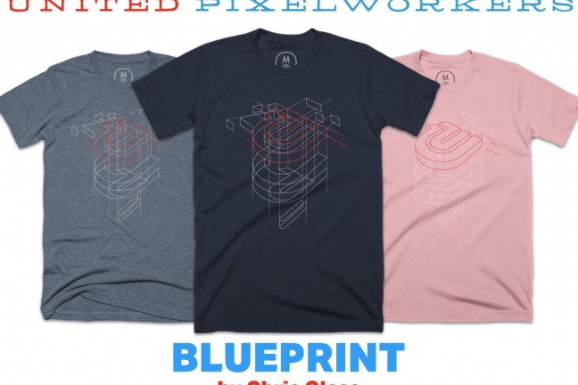 united-pixelworkers-chris-glass-blueprint-graphic-tee